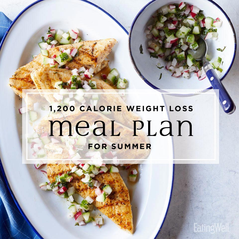 1,200-Calorie Weight-Loss Meal Plan For Summer