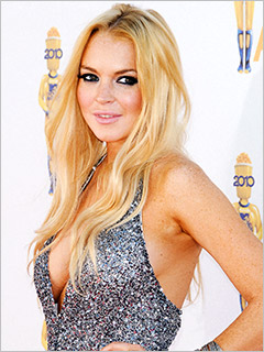 Lindsay Lohan Playboy Spread -- PICS: LiLo Posing For Nude