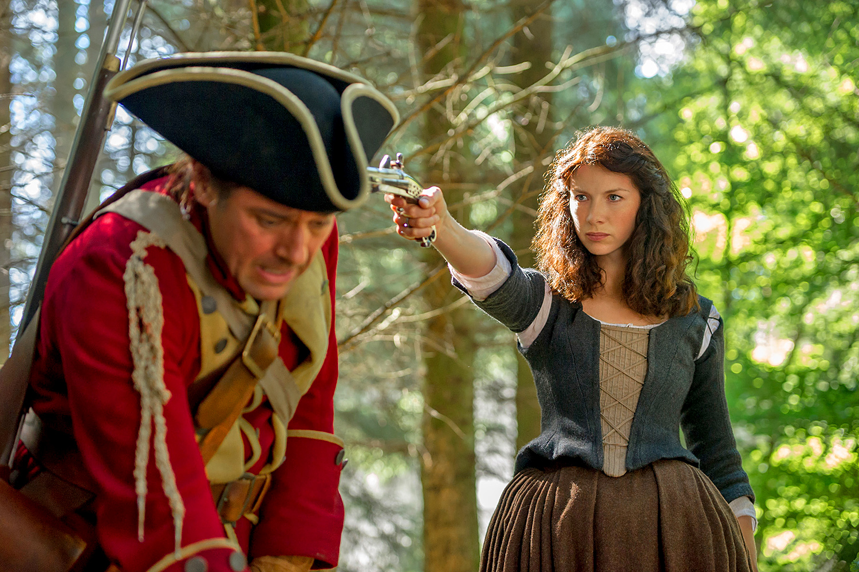 Outlander spanking scene draws big female audience | EW.com