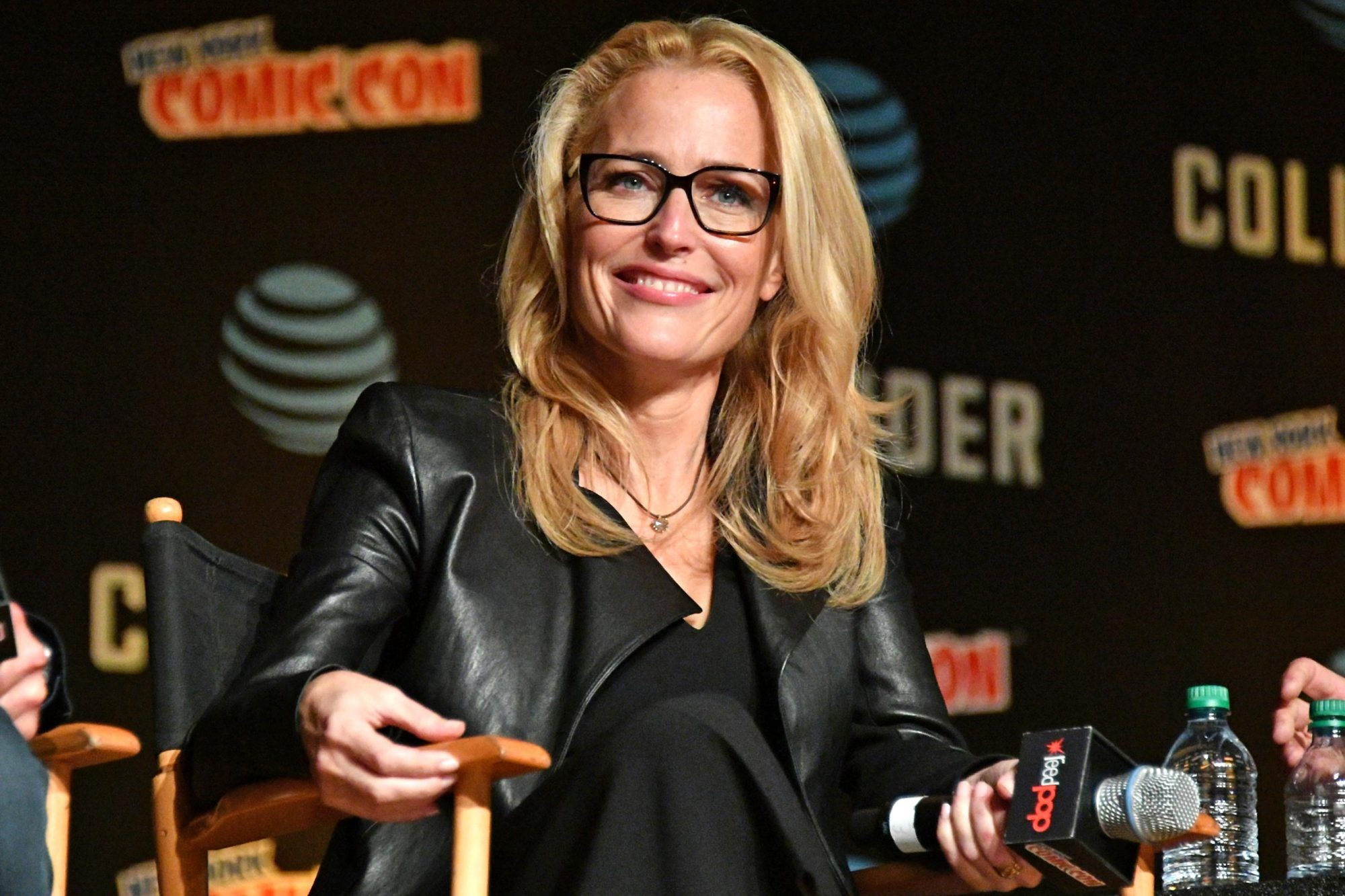 Gillian Anderson Calls Out The X-Files on All-Male Writing
