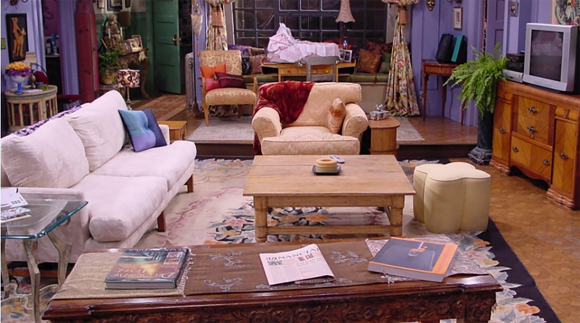 ikea recreates tv living rooms friends stranger things