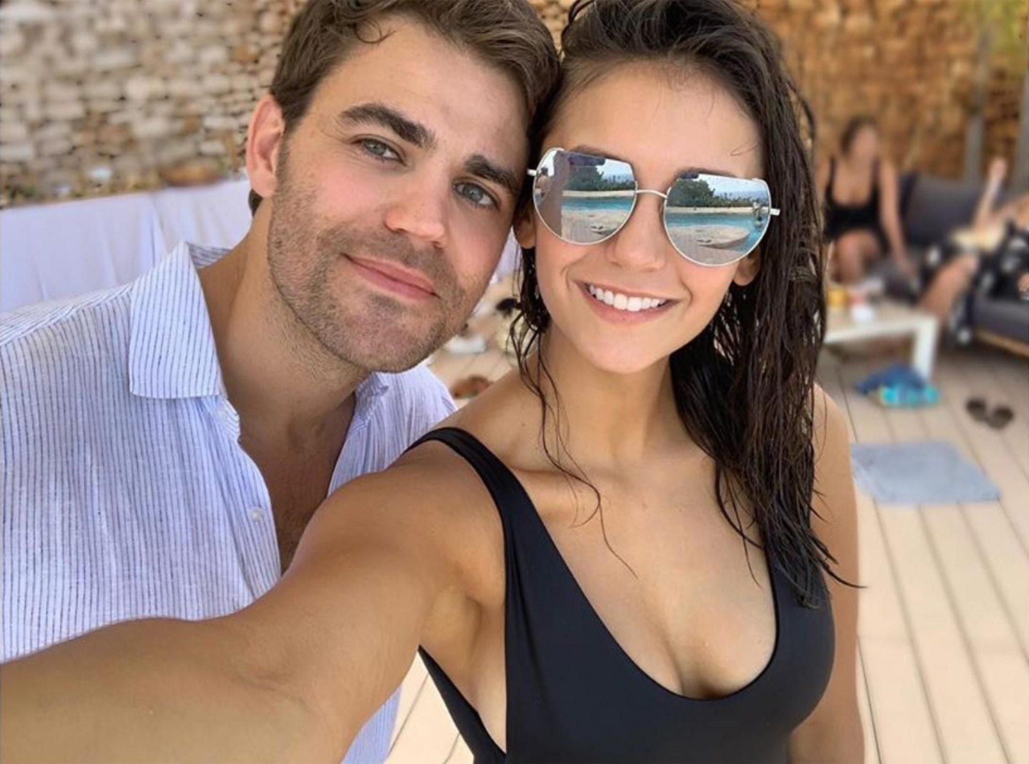 Nina dobrev dating