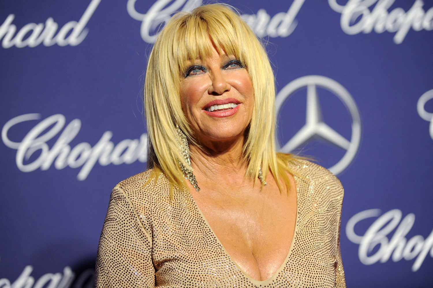 Suzanne Somers, 73, Wears Nothing ButHer Birthday Suit