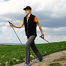Walk Off Fat: The Nordic-Walking Workout