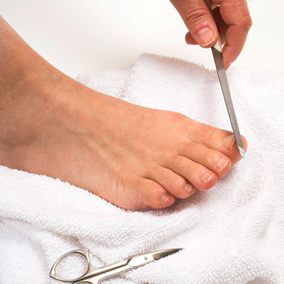 Friday: Trim your toenails