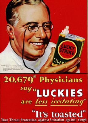 What Those Funny Old Smoking Ads Really Show