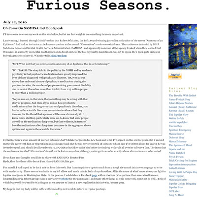 Furious Seasons