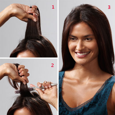 How to back-comb