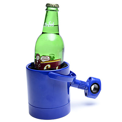The handlebar drink holder