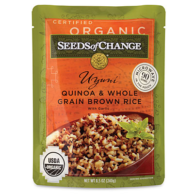 Foodie Friday: Seeds of Change Microwaveable Rice and Grains