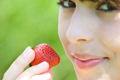 strawberry-look
