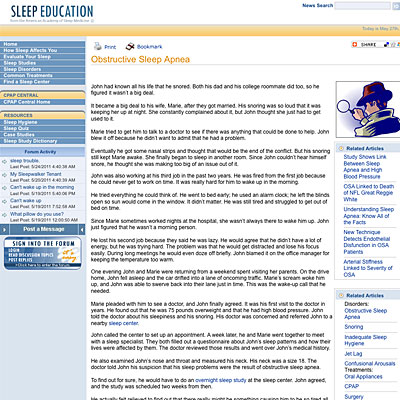 Sleep Education