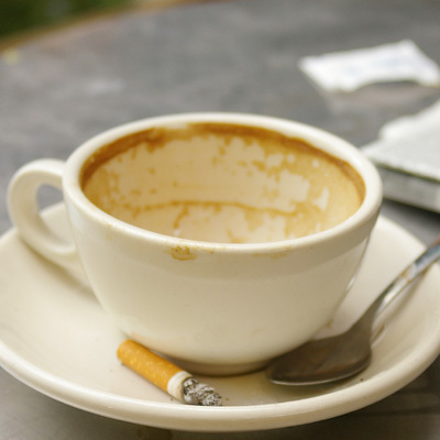 Limit caffeine and nicotine during manic episodes