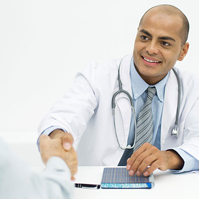 doctor-greeting-patient
