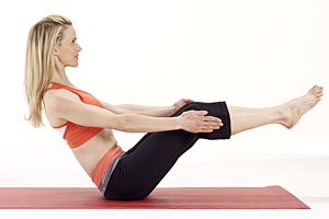Magic Yoga Moves for a Trim Tummy