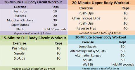 Get Great Results With These At Home Workouts Health