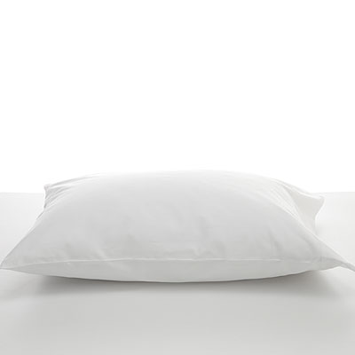 single-white-pillow