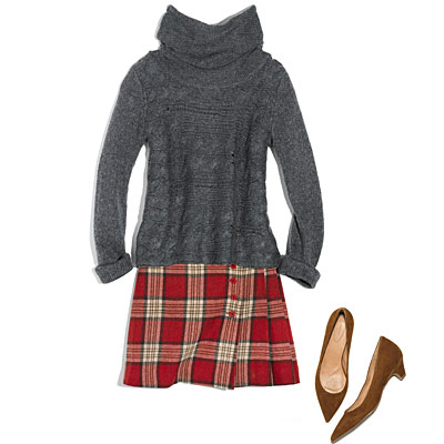 skirt-with-shoes