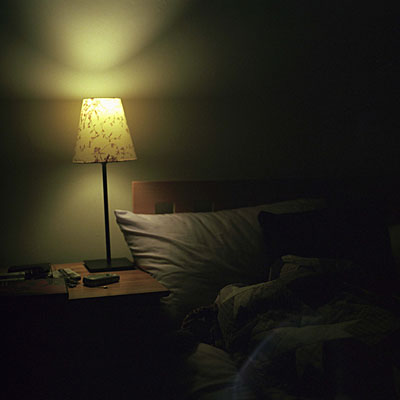 What To Do If You Cant Stay Asleep Health - Bedroom lights off