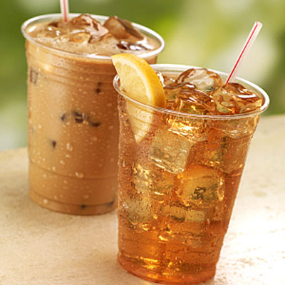 Try iced herbal tea