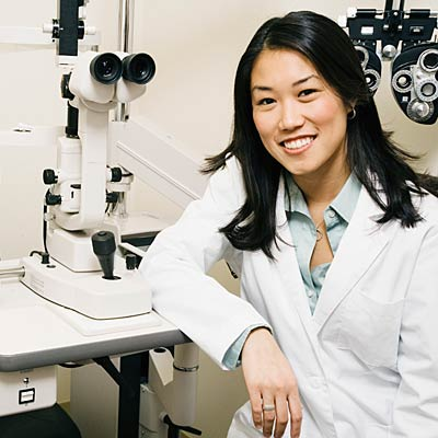 What's an ophthalmologist?