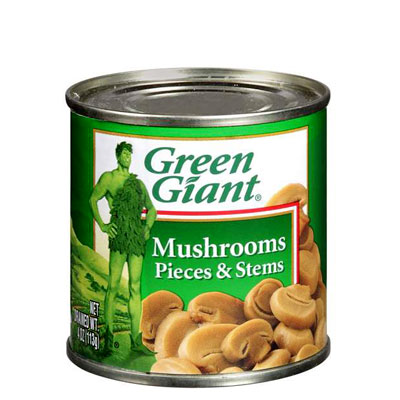 Green Giant Canned Mushrooms
