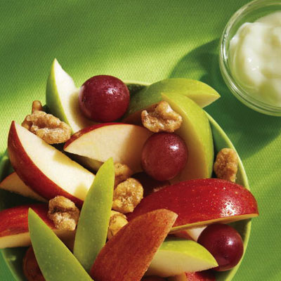 Snack Size Fruit and Walnut Salad (McDonald's)