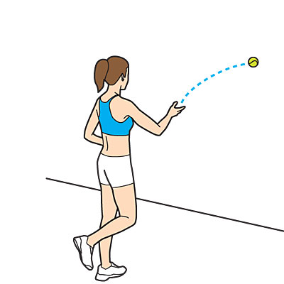 Get Fit With a Tennis Ball
