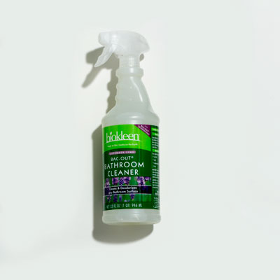 Bathroom Cleaner: Biokleen Lavender-Lime Bac-Out Bathroom Cleaner