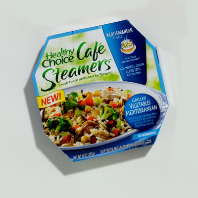 Frozen Vegetarian Entrée: Healthy Choice Café Steamers Grilled Vegetables Mediterranean