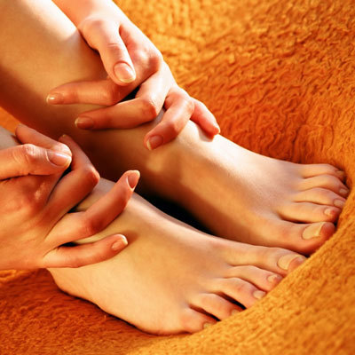 Press Here: Reflexology for Relief