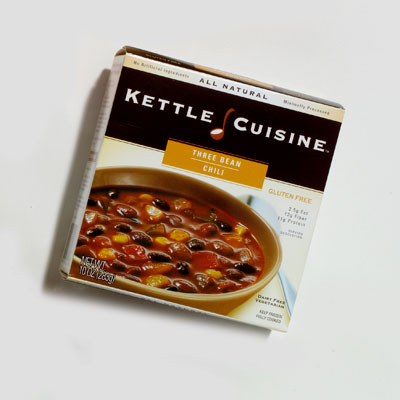 Soup: Kettle Cuisine 3 Bean Chili