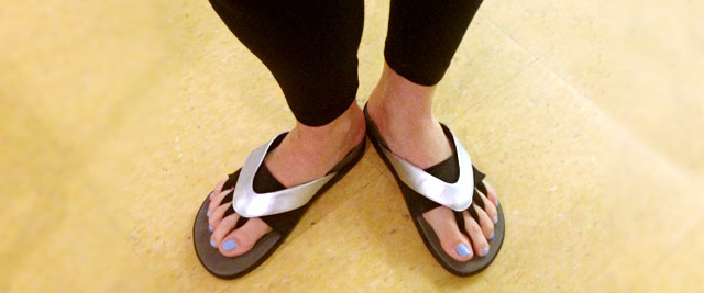 2a44210881874 Would You Wear These Crazy-Looking Flip-Flops? - Health