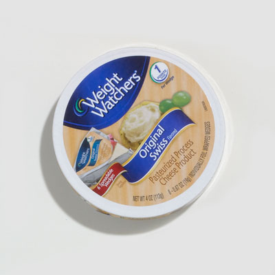Cheese: Weight Watchers Original Swiss-Flavored Gourmet Cheese Wedges