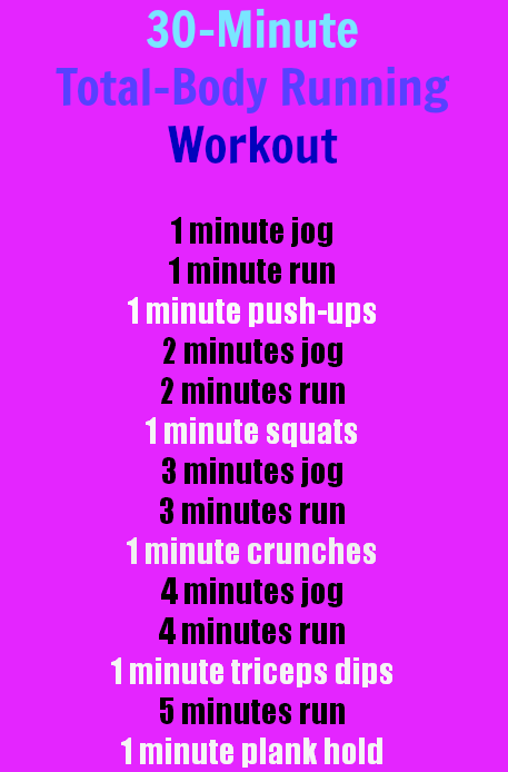 A 30-Minute, Total-Body Running Workout