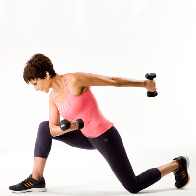Upper Body: Kickback and Curl