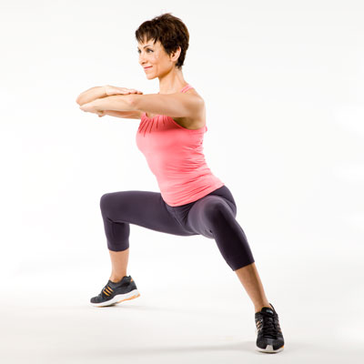 Lower Body: Plie Sweep