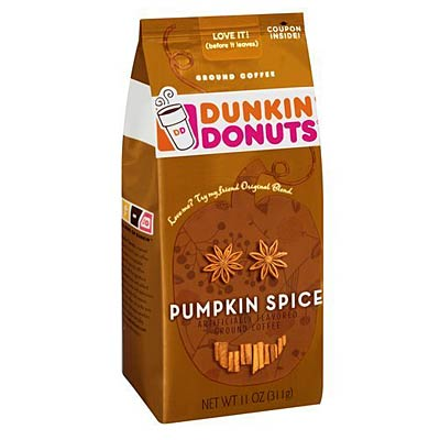 Worst Black Coffee: Dunkin Donuts Pumpkin Spice Coffee