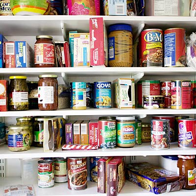 Clean out your pantry