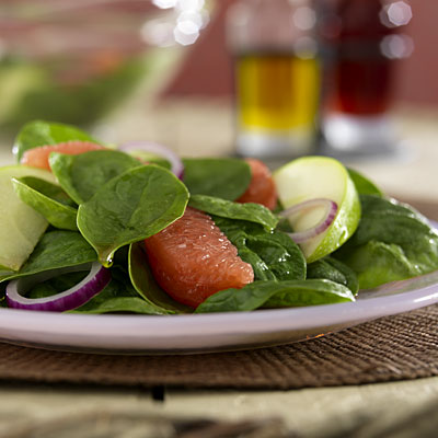Fruity Spinach Salad