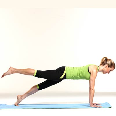 Different types of plank positions for sexual health