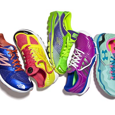 Light, Bright Sneakers for Summer Workouts