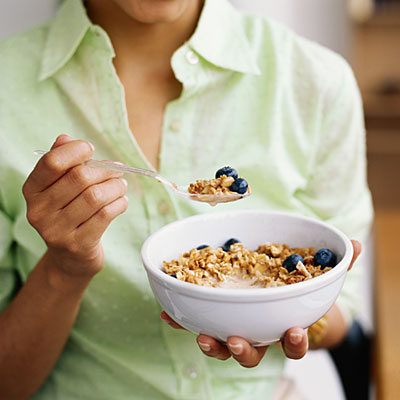 How to make a bowl of cereal more satisfying health an easy and nutritious way to make your bowl of cereal more satisfying is by adding fiber rich fruit which fills you up without adding a lot of calories ccuart Image collections