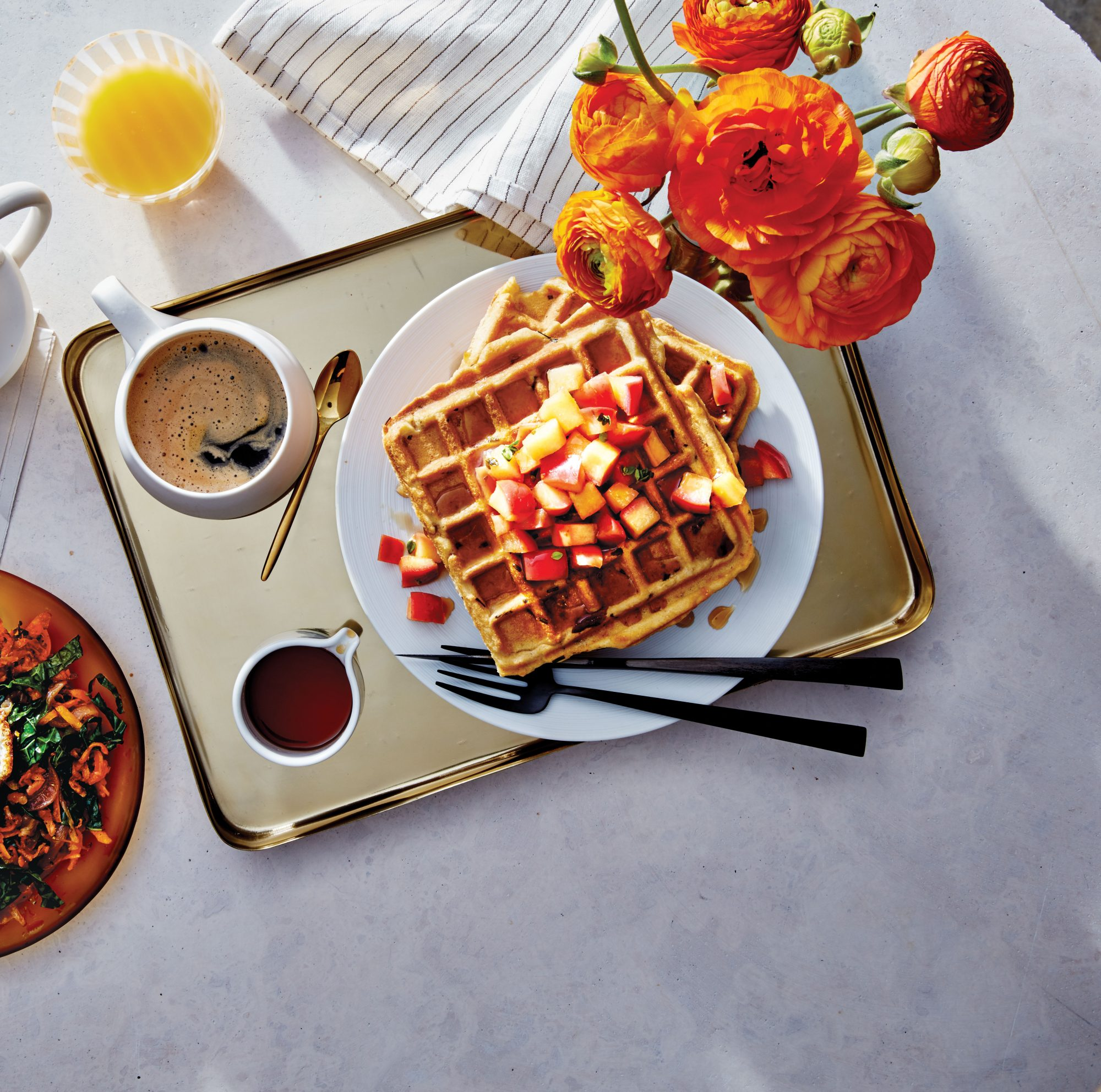 bacon-stuffed-waffles-fruit-brunch-recipe