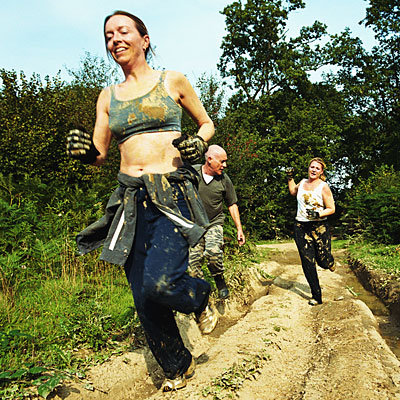 Sign up for an obstacle-course race