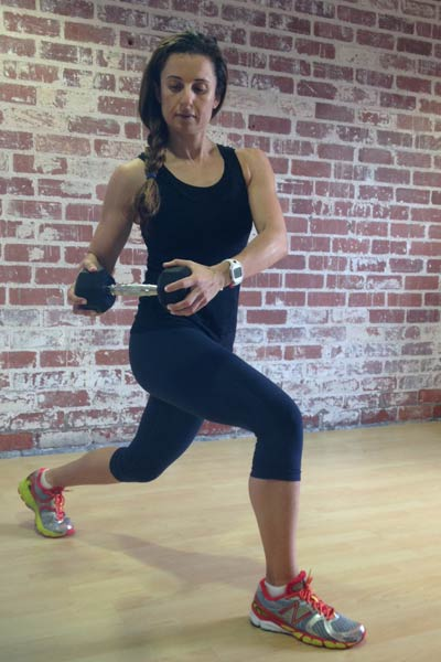 A Waist-Defining Workout for Athletic Body Types