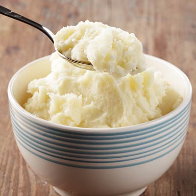 Come on, another helping of mashed potatoes won't hurt.