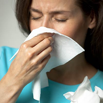Early symptoms mimic the flu