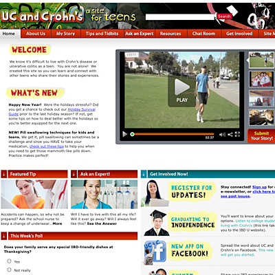 A Site for Teens