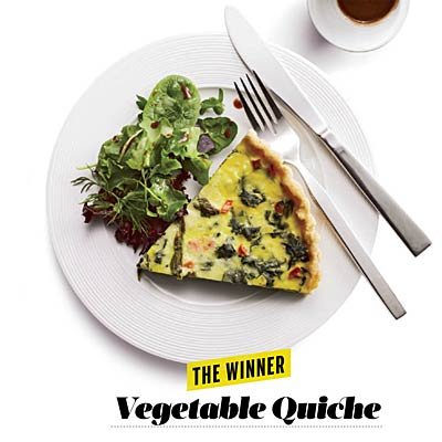 vegetable-quiche